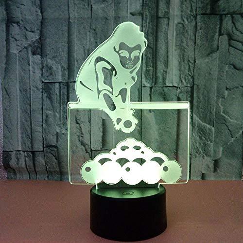 Billard spielen, bunte Akzente setzen, Beleuchtung für Zuhause, kreative Geschenke, Billard, kleine Tischlampen -