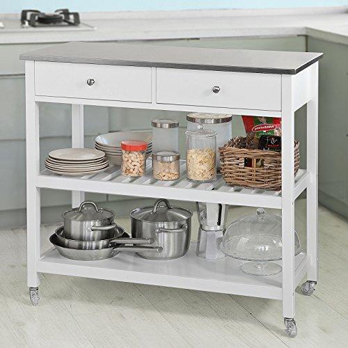 Opiniones sobuy carrito de servir estanteria de cocina - Carrito para cocina ...