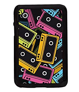 printtech Pop Cassettes Music Back Case Cover for Samsung Galaxy Tab 2 7.0 P3100 , Samsung Galaxy Tab 2 (7.0)