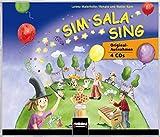 Sim Sala Sing. 4 AudioCDs: Originalaufnahmen 4 CDs. CDs zum gleichnamigen Liederbuch mit Originalaufnahmen zu 127 ausgewählten Titeln. - Lorenz Maierhofer, Walter Kern, Renate Kern