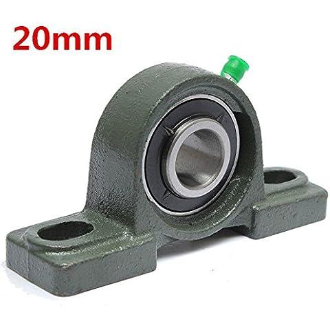 PhilMat 20mm diámetro almohada bloque de aleación de zinc diámetro de la bola montada teniendo ucp204