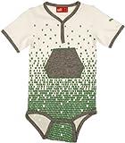 Puma Unisex Baby Body Suit 9 - 12 Months White/ Athletic Grey Heather