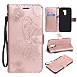 Bangcool Xiaomi Poco F1 Brieftasche Butterfly Flip Deckung für Xiaomi Poco F1
