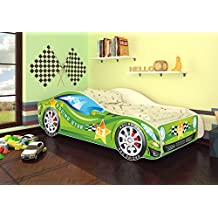 Best For Kids Autobett Kinderbett Bett Auto Car Junior In Vier Farben Mit  Lattenrost Und Matratze