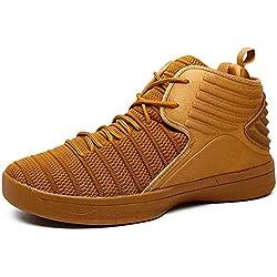 IIIIS-F Zapatillas de Deporte de Running para Hombre Mujer Gimnasia cómodos para Caminar Ligero Sneakers Casual Malla para Verano Zapatos