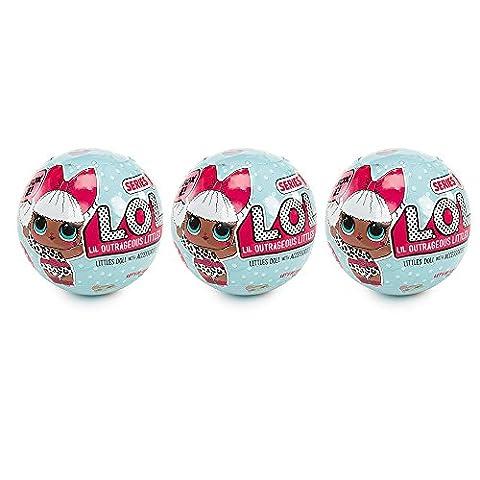 Spielzeug, Frashing LOL Überraschung L.O.L. Puppen Lets Be Friends Serie 3 Bälle. Neu im Kasten! (Bagger Kostüm Diy)