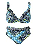 Womens Simply Yours Bikini Set in Multi-Coloured
