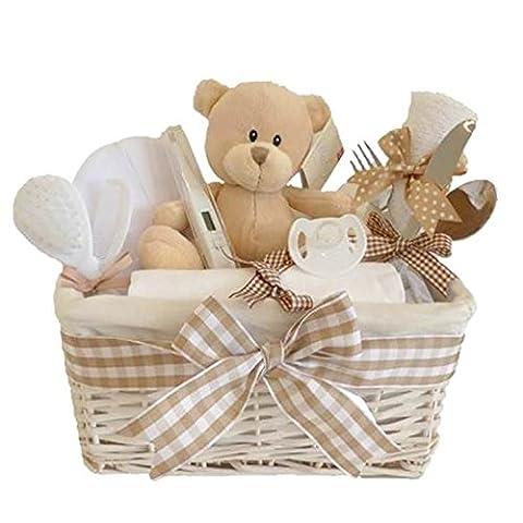 Glimmer Unisex Baby Hamper / Unisex Baby Gift / New Baby Gift / Baby Boy / Baby Girl / Unisex Hamper / Baby Shower Gift / New Arrival Gift / Unisex Gift Basket / Maternity Gift / FAST