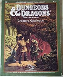 Creature Catalogue (Dungeons & Dragons official game accessory) by Jim Bambra (1986-11-24)