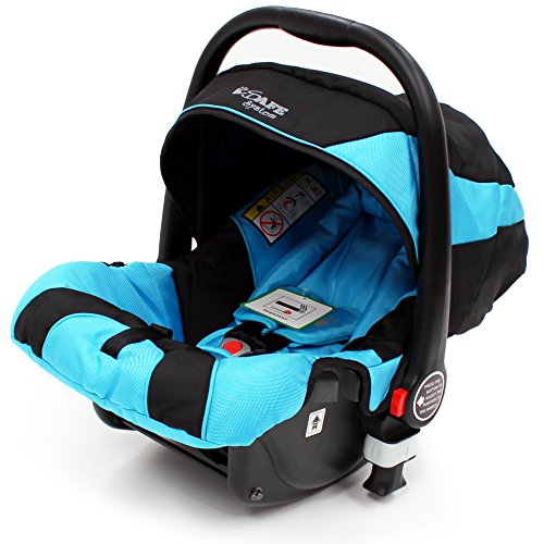 i-Safe System - Ocean Trio Travel System Pram & Luxury Stroller 3 in 1 Complete With Car Seat  iSafe