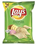 #2: Lay's Potato Chips - American Style Cream & Onion Flavour - 52g