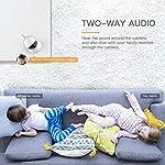 Apeman-1080P-Telecamera-Sorveglianza-WiFi-Interno-Videocamera-IP-WirelessVisione-Notturna-a-Infrarossi-Audio-Bidirezionale-Per-Baby-Monitor-Sensore-di-Movimento-PanTilt
