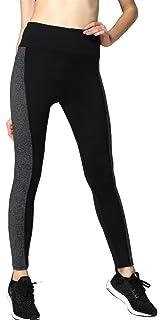 f/ür aktives Workout Stretchmaterial mit Aufdruck Neonysweets Capri-Yogahose f/ür Damen