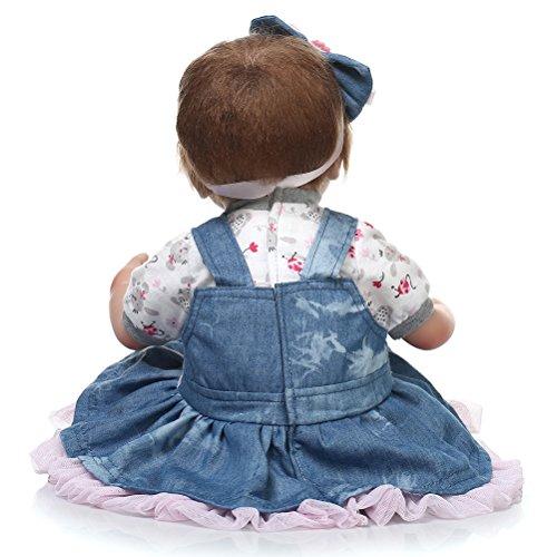 2 Stück Puppenunterwäsche Schlüpfer Puppenkleidung für Puppen 50-55cm Neu