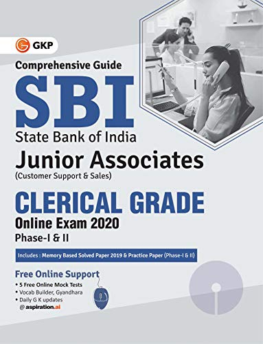 SBI 2020: Clerical Grade Ph I & II Junior Associates - Guide