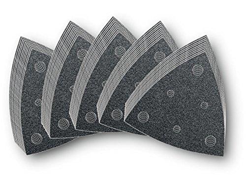 Fein MultiMaster 2022305 Schleifblatt-Set, gelocht, Körnung 60, 80, 120, 180, 240, je 10 Stück