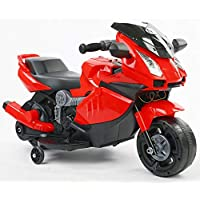 Toy House Mini Lamborghini Superbike Rechargeable Battery Operated Ride-on for Kids (2 to 4Yrs, Red)