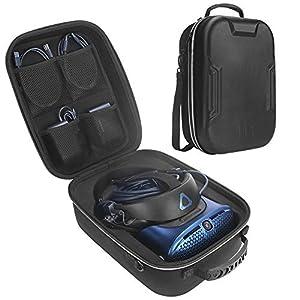 Zaracle Hartschalen-Reisetasche für HTC Vive Cosmos – PC Schultertasche Schutztasche Aufbewahrungsbox