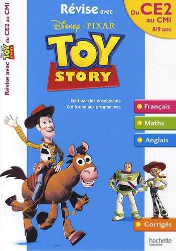 Révise avec Toy Story du CE2 au CM1 : 8-9 ans