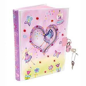 Journal Intime Fée pour enfants - Carnet Secret verrouillable avec deux clés - Lucy Locket