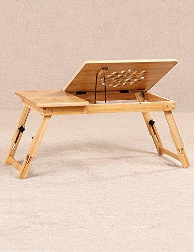 LQQGXLPortabler Klapptisch Fauler Tisch, kleiner Schreibtisch auf dem Bett, tragbarer Computertisch, Kühltisch, (Farbe : A-L)