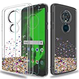 wtiaw MOTO E5 Plus Case with HD Screen Protector,