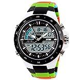 Herren-Armbanduhr Herren Luxus Marke Analog-Digital LED Sport Armbanduhr Wasserdicht Fashion Casual quartz-watch relogio Masculino, 3