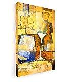 Lutz Baar - Yellow Mood - 40x60 cm - Premium Leinwandbild auf Keilrahmen - Wand-Bild - Kunst, Gemälde, Foto, Bild auf Leinwand - Stillleben