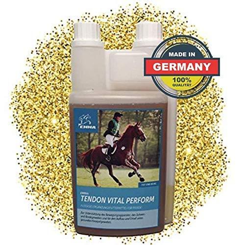 EMMA ♥ MSM Pferd I Gelenk, Bänder & Sehnen I Glucosamin, Chondroitin & Collagen I Zusatzfutter für Pferde I Premium 1 L