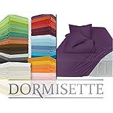 Mako-Feinjersey - hochwertiges Spannbetttuch in 60 fantastischen Farben & Kissenhülle in 17 ausgesucht harmonisierenden Farben, Spannbettuch 90-100 x 190-200 cm, silber