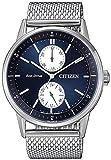Citizen Ecodrive BU3020-82L - Reloj Hombre Acero Esfera Azul