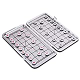 MagiDeal Chinesisches Internationales Schach Xiangqi mit Magnet Travel Set - Chinesisches Schach