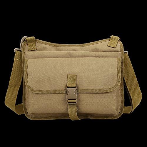 Faysting EU borsa a tracolla spalla borsa esercito verde vari colori scegliere buon regalo per uomo studenti C