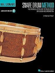 Rick Mattingly Hal Leonard Snare Drum Method Drums Book/Cd