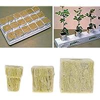 Yasheep Rockwool Cube Hydroponic Grow Media Soilless Cultivation Planta Compress Base