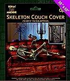 Halloween skelett Türabdeckung / sofa Überwurf - verwenden sie diese Skelett zum dekorieren ein zimmer - anzuziehen sofa, wände oder tür