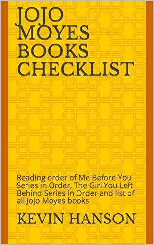 Jojo Moyes Books Checklist: Reading order of Me Before You Series ...