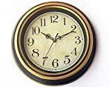 Kartique Wall Clock Wooden look Vintage ...
