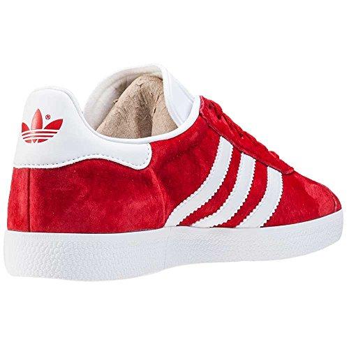 adidas Herren Gazelle Sneakers Rot (Scarlet/ftwr White/gold Met.)