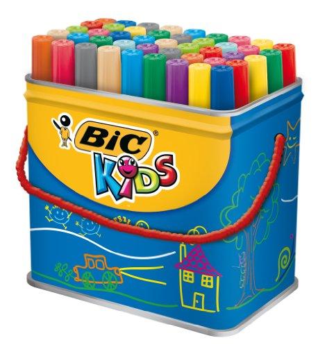 bic-kids-visa-couleur-xl-trommel-mit-48-stck
