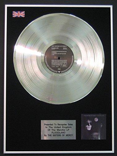 Sisters of Mercy-LP Platinum Disc-Floodland