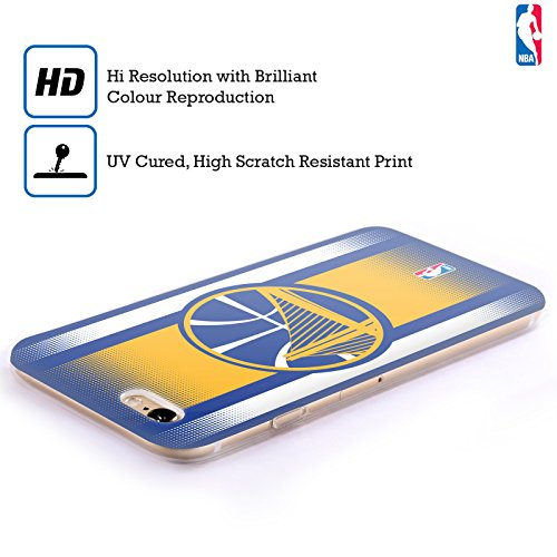 Ufficiale NBA Icona Oversize Golden State Warriors Cover Morbida In Gel Per Apple iPhone 6 / 6s Gradiente Mezzotono