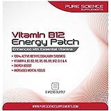 Pure Science transdermique vitamine B12 patches 5000mcg - 6 semaines d'approvisionnement