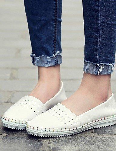 Shangyi Gyht Chaussures Femme-mocassins-bureau Et Travail / Formel / Décontracté-confortable / Ballerine-flat-tassel-rose / Blanc / Argent Argent