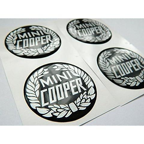 Centro de X4Mini Cooper rueda Cap emblemas 50mm