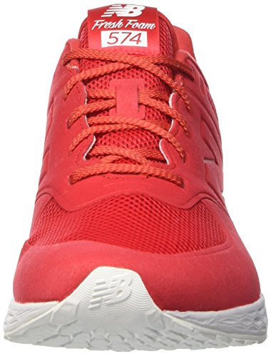 New Balance Nbmfl574rb, Chaussures de Sport Homme Rosso (Red D)