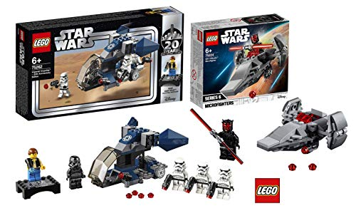 LEGO Star Wars 75262 - Imperial Dropship - 20 Jahre Star Wars, Bauset Star Wars 75224 Sith Infiltrator Microfighter