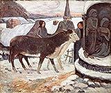 Paul Gauguin - Christmas Night (Detail) 1894 Paul Gauguin