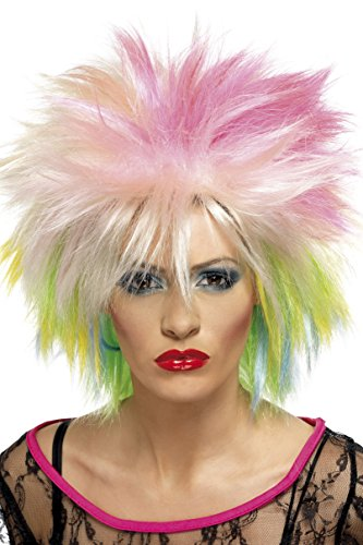 Smiffy's 80's Attitude Punk Wig for Ladies