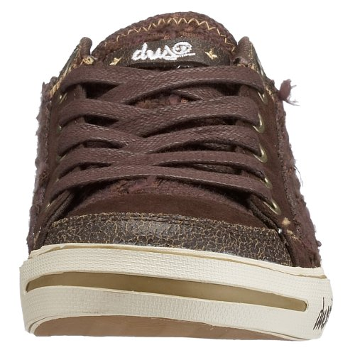 Chaussures DVS Farah HO - Brown Canvas-Marron Marron